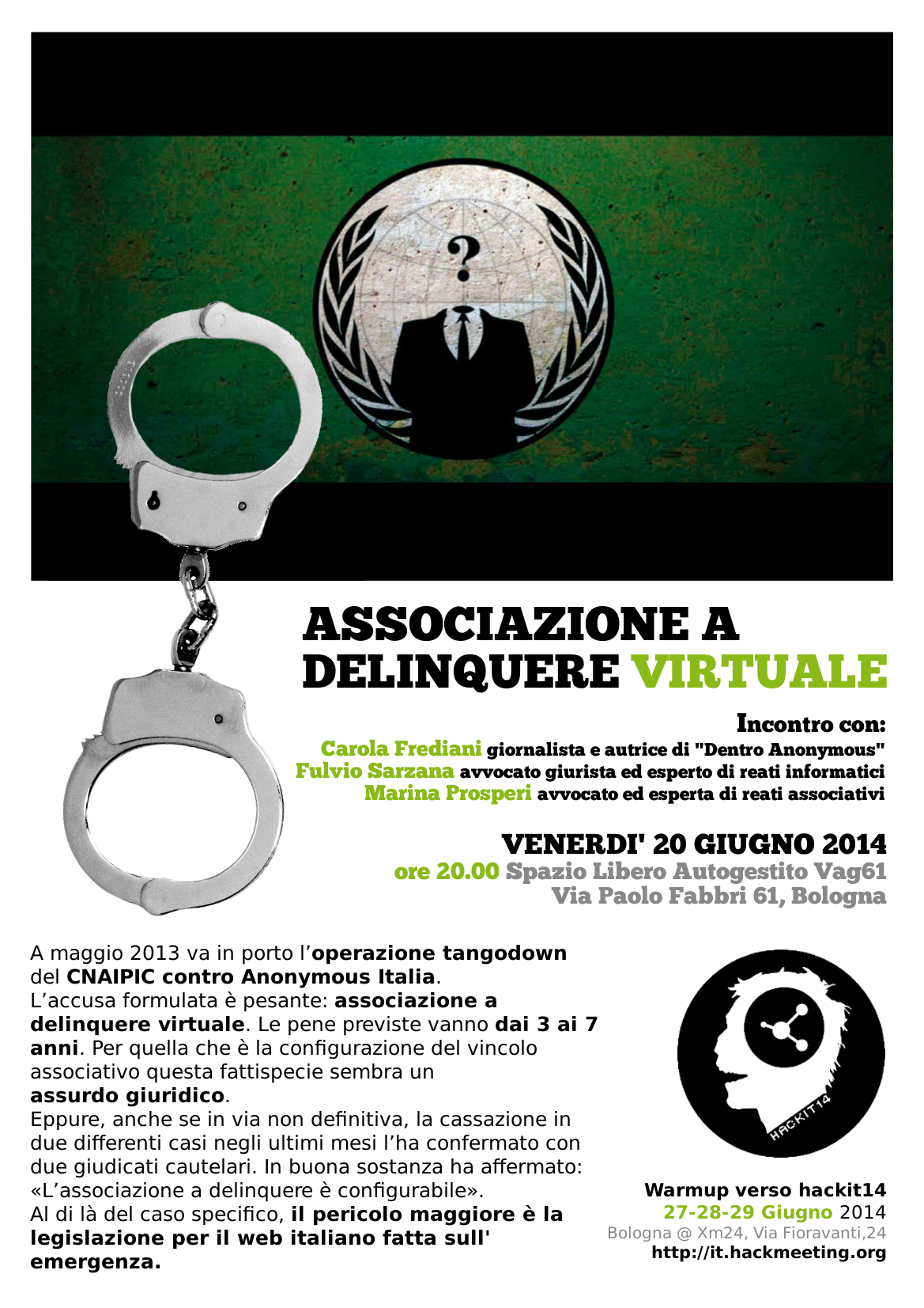 Associazione a delinquere virtuale