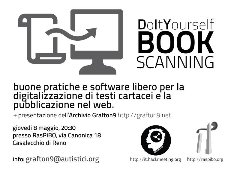 DIY book scanning