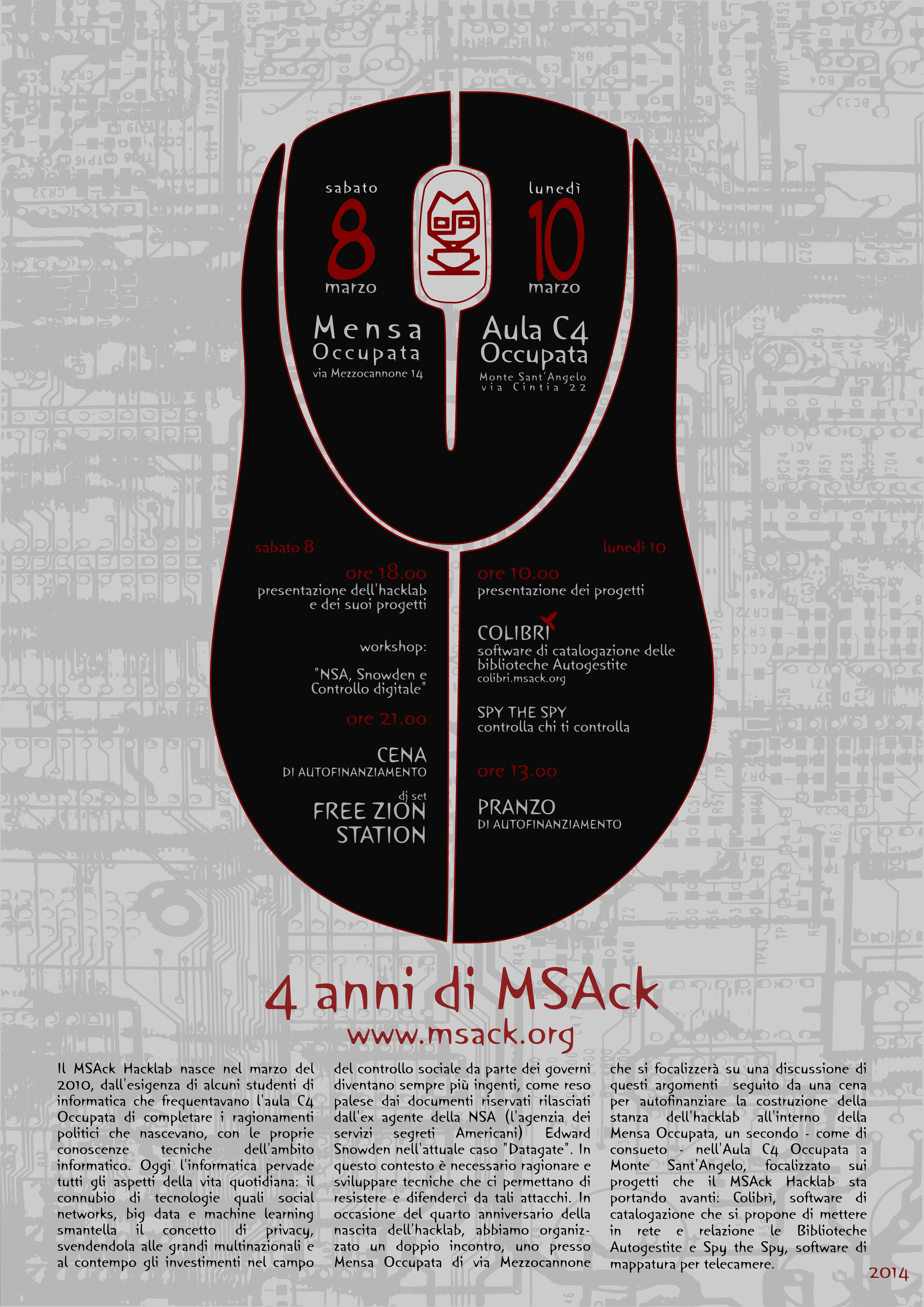 4 Anni di MSAck