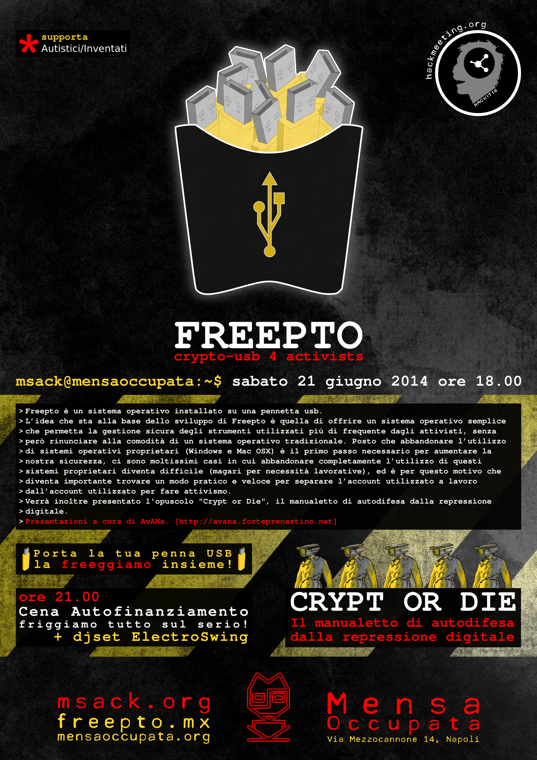 Freepto: cryptousb 4 activists